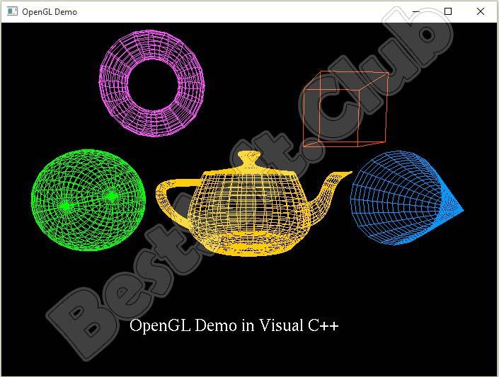 3D модели OpenGL