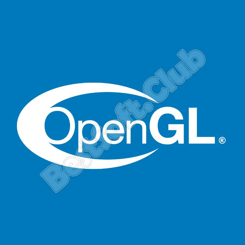 Логотип OpenGL