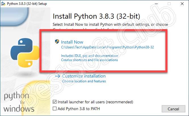 Кнопка-инсталляции-Python-для-Windows-10