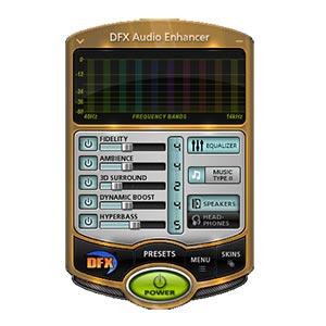 Иконка DFX Audio Enhancer