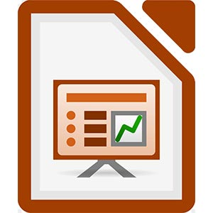 Иконка LibreOffice Impress