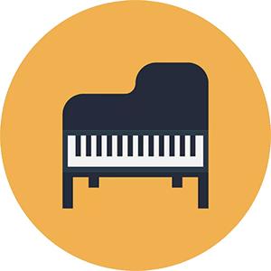 Иконка пианино для ПК