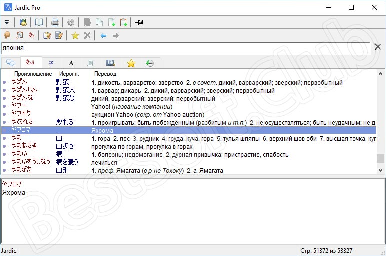 Программный интерфейс JARDIC