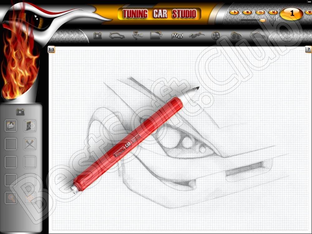Программный интерфейс Tuning Car Studio