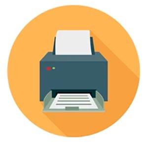 Иконка программа для настройки принтера для печати
