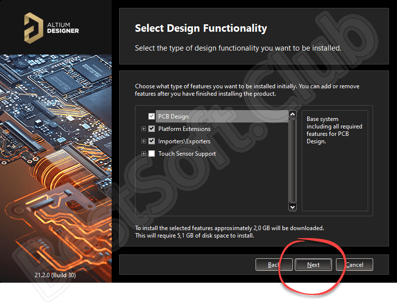 Altium Designer 21.2.0 Build 30 русская версия 32/64 Bit
