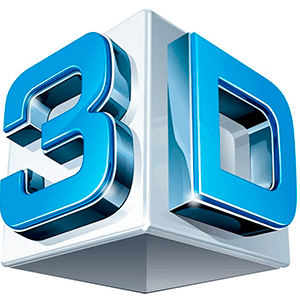 Иконка 3d element