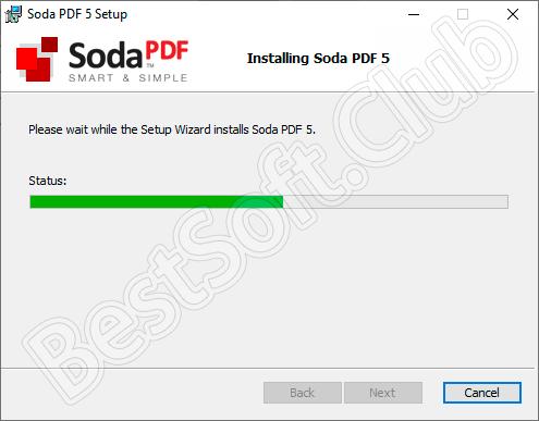 Установка Soda PDF