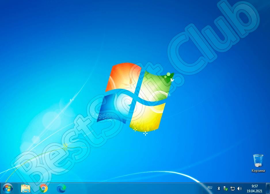Внешний вид ОС Windows 7 Zver