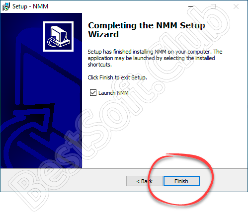 Завершение инсталляции Nexus Mod Manager