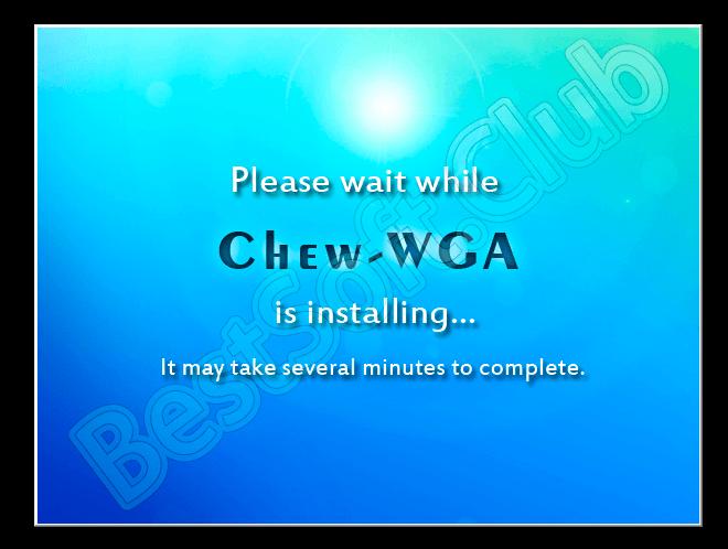 Пользовательский интерфейс Chew WGA