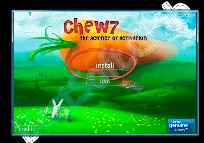 Работа с Chew7
