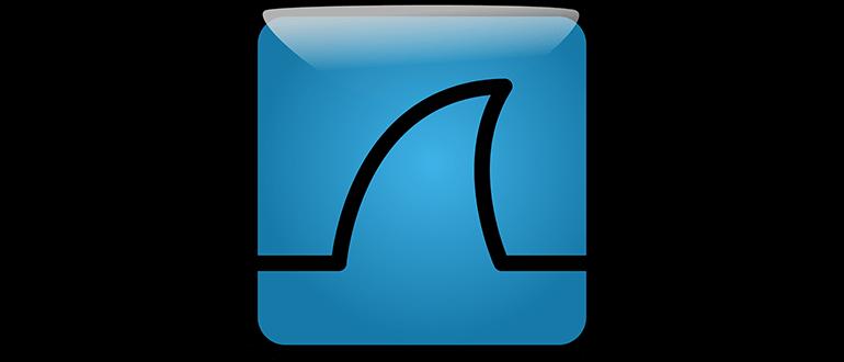 Иконка Wireshark