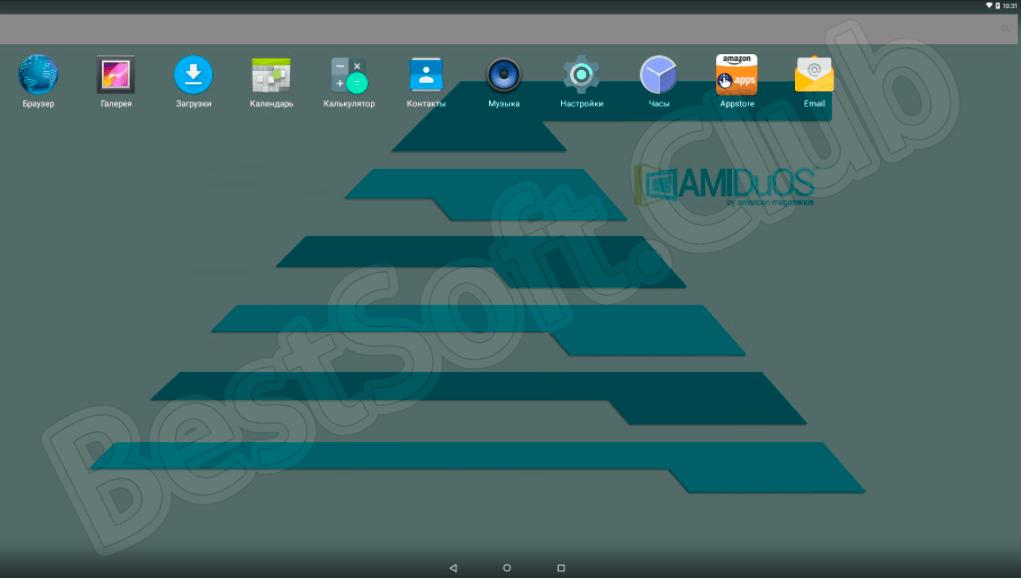 Программный интерфейс AMIDuOS